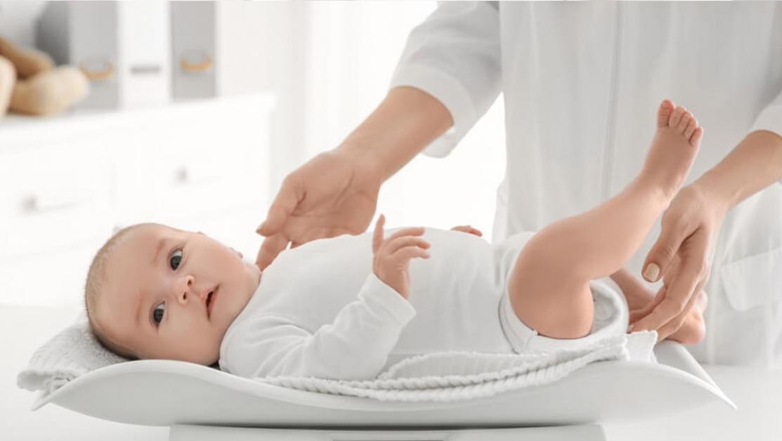 Cresterea in greutate a bebelusului in primul an de viata