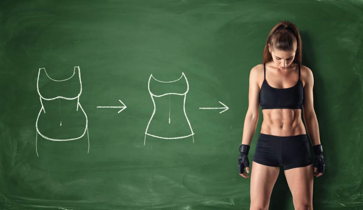 Remodelare corporala: scaderea in greutate sau pierdere in cm?