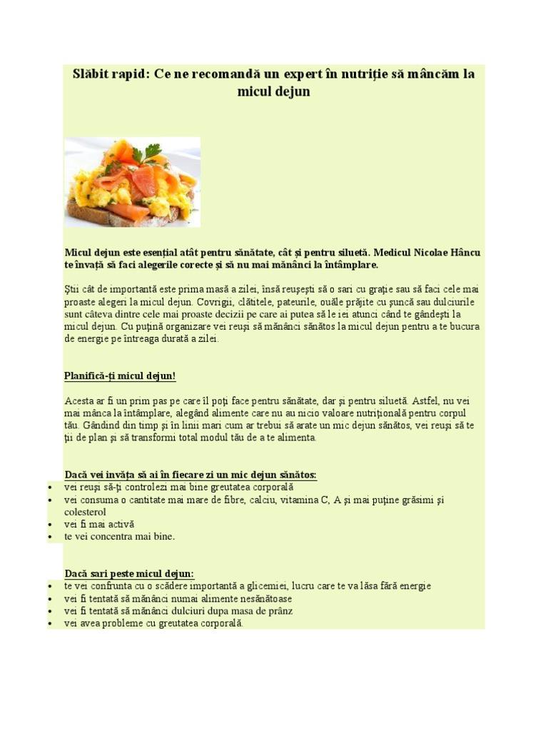 Alimentele isi modifica greutatea atunci cand sunt preparate. Iata diferenta la unele dintre ele