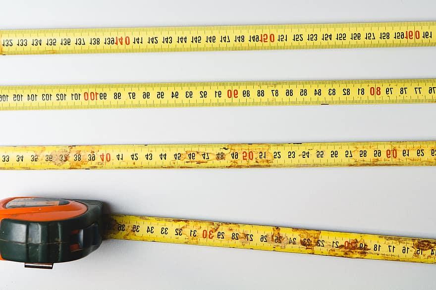 bandă de măsurat pentru slăbire