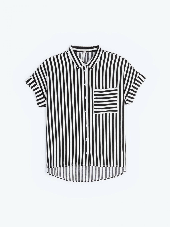 Tricou alb Rip Curl Corp SS Tee din bumbac pentru barbati