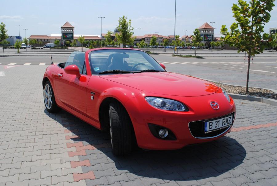 Mazda MX-5 facelift primește acum de cai putere