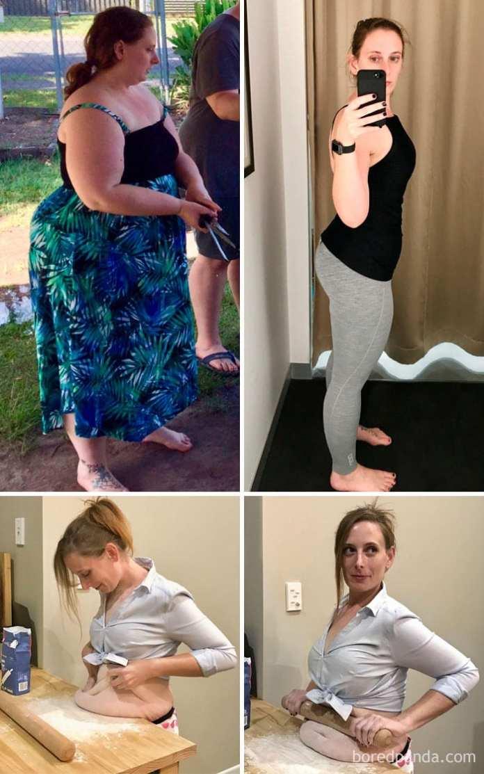 Pierdere în greutate de un an înainte și după ca și primul simptom pierderea în greutate