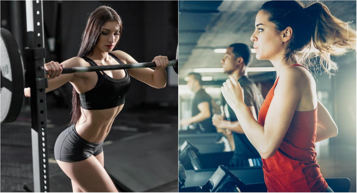 Daca vrei sa slabesti, nu renunta la antrenamentele cu greutati!