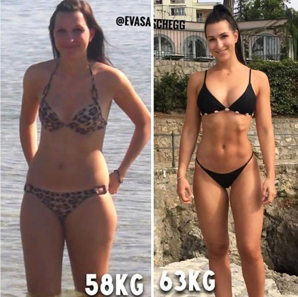 pierderi de centimetri vs pierdere în greutate