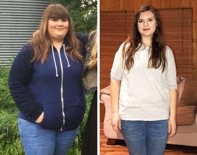 Pierdere în greutate de 40 kg în 2 luni