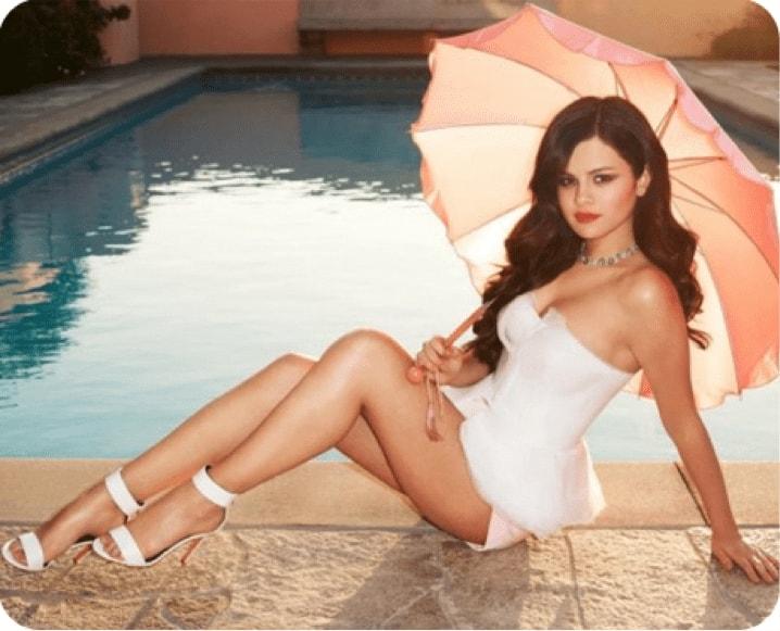 Selena Gomez pierde în greutate poti sa slabesti cu adevarat facand zumba